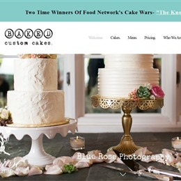 Photo of Baked Custom Cakes, a wedding cake bakery in Seattle