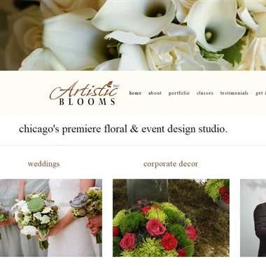 Artistic Blooms wedding vendor preview