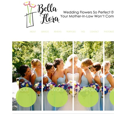 Bella Flora wedding vendor preview