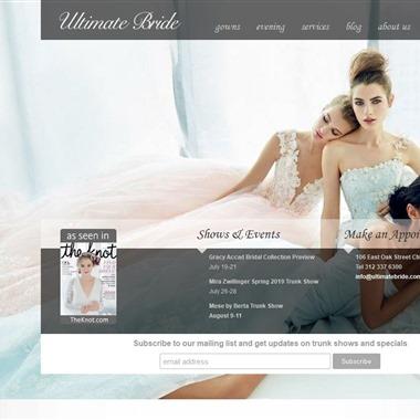 Ultimate Bride wedding vendor preview