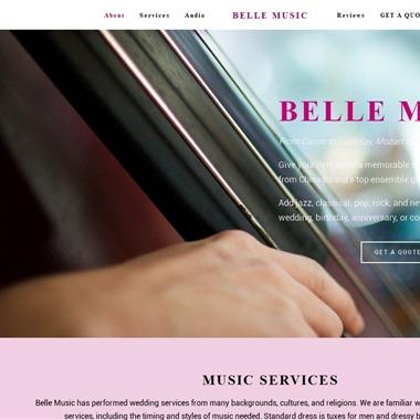 Belle Music wedding vendor preview
