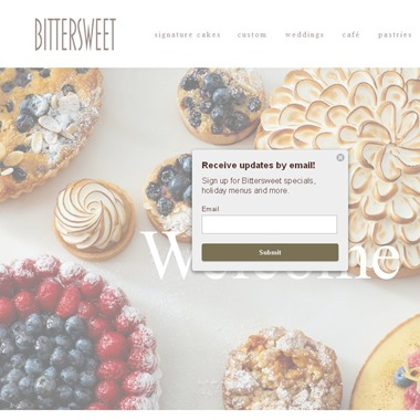 Bittersweet Pastry wedding vendor preview