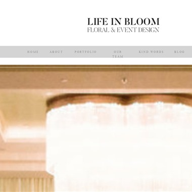 Life In Bloom wedding vendor preview