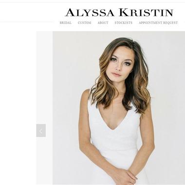 Alyssa Kristin wedding vendor preview