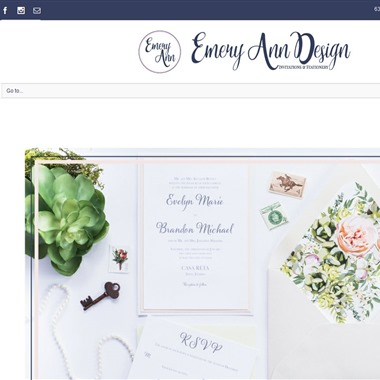 Emery Ann Design wedding vendor preview