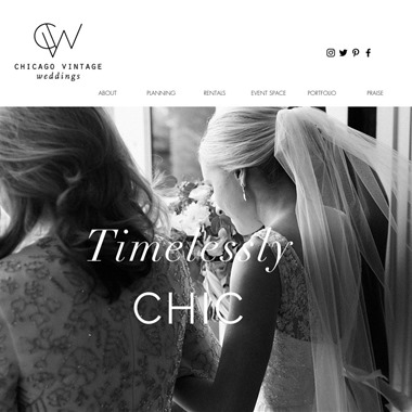 Chicago Vintage Weddings wedding vendor preview