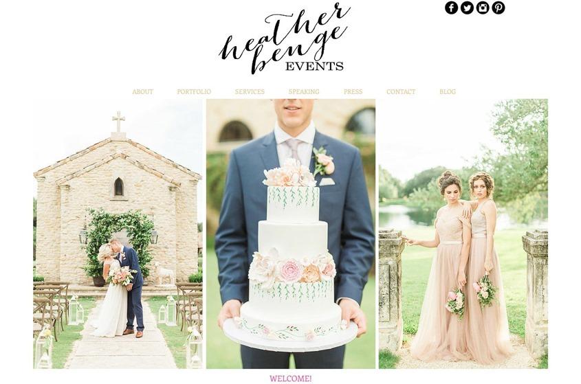 Heather Benge Events wedding vendor photo
