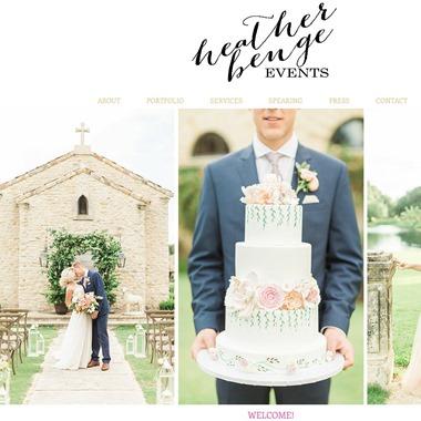 Heather Benge Events wedding vendor preview