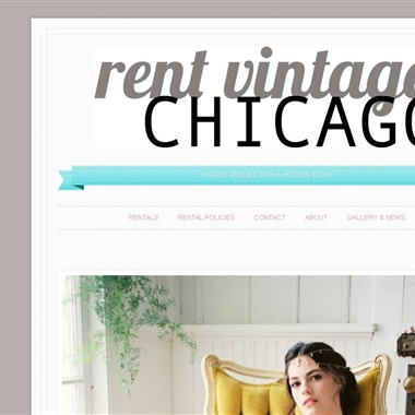 Rent Vintage Chicago wedding vendor preview