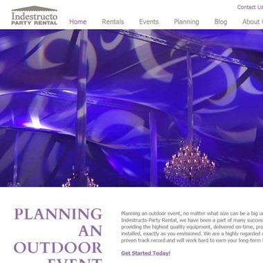 Indestructo Party Rental wedding vendor preview