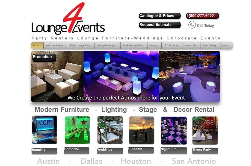Lounge4events wedding vendor photo