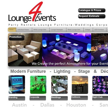 Lounge4events wedding vendor preview