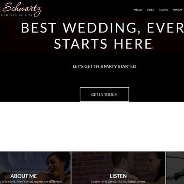 Tony Schwartz Mc DJ wedding vendor preview