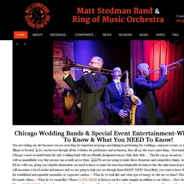 Matt Stedman Band & Ring of Music wedding vendor preview