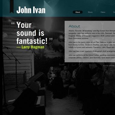 John Ivan Guitarist wedding vendor preview