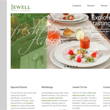 Jewell Events Catering wedding vendor preview