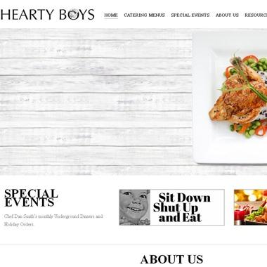 Hearty Boys Catering wedding vendor preview