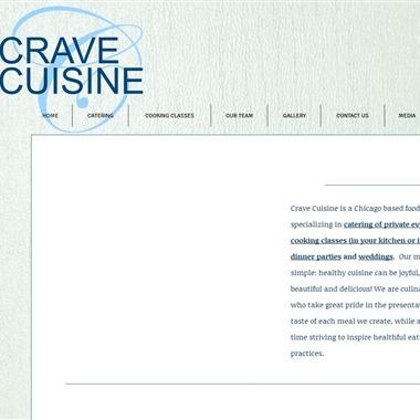 Crave Cuisine wedding vendor preview