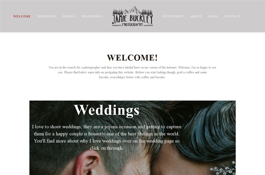Jamie Buckley Photography wedding vendor photo