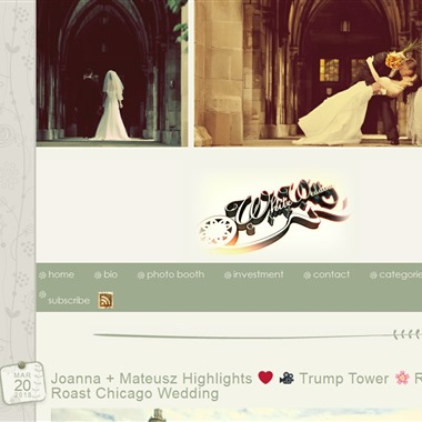 White Wedding Cinema wedding vendor preview