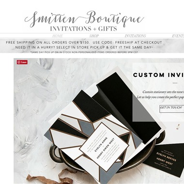 Smitten Boutique wedding vendor preview
