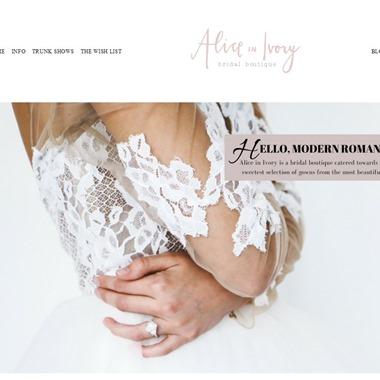Alice in Ivory wedding vendor preview