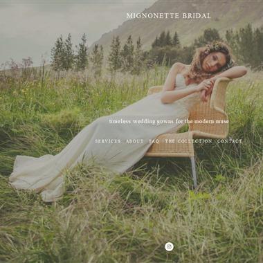 Mignonette Bridal wedding vendor preview