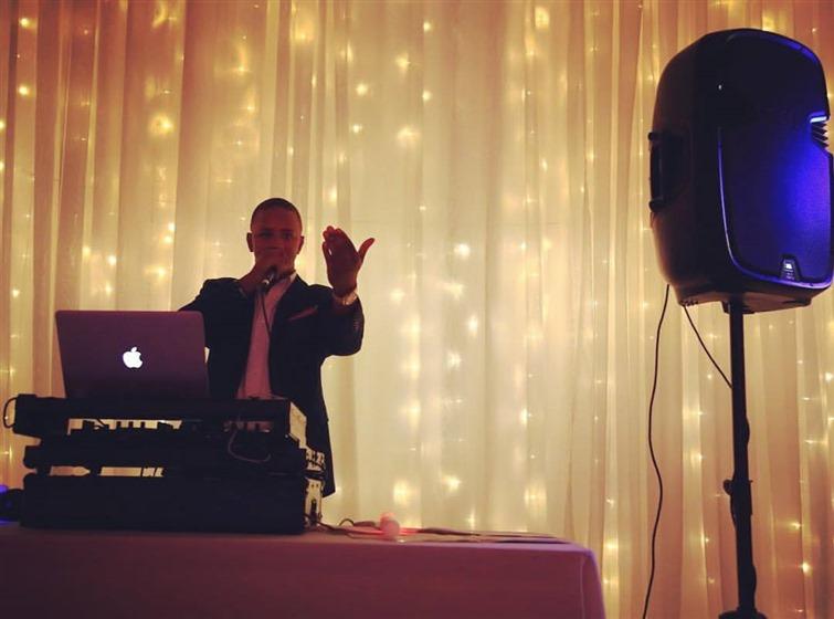 DJ Sam Diego Events wedding vendor photo