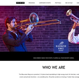 Photo of Bluewater Kings Band, a wedding musician in Chicago
