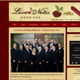 Love Notes Wedding Officiants photo