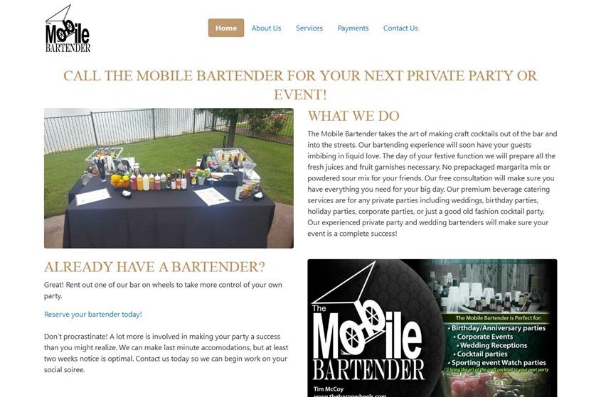 The Mobile Bartender wedding vendor photo