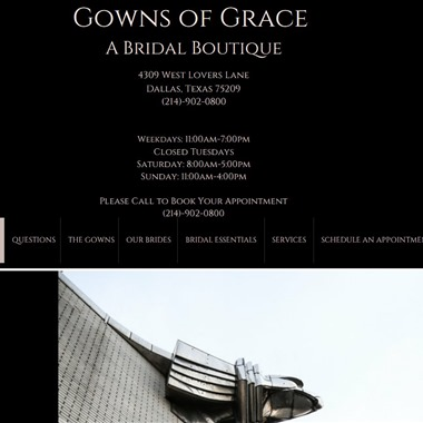 Gowns of Grace wedding vendor preview