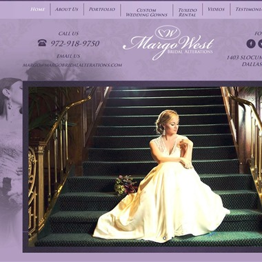 Margo West Bridal Alterations wedding vendor preview