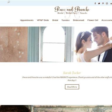 Pence & Panache wedding vendor preview