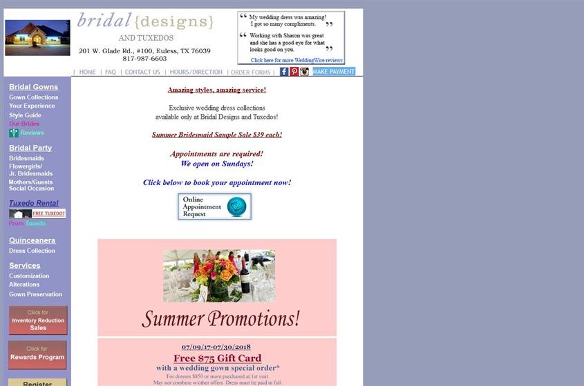 Bridal Designs and Tuxedos wedding vendor photo
