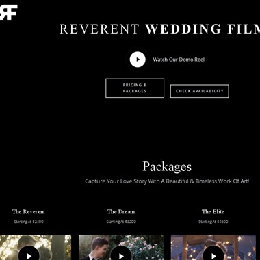 Reverent Wedding Film wedding vendor preview