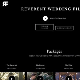 Reverent Wedding Film photo