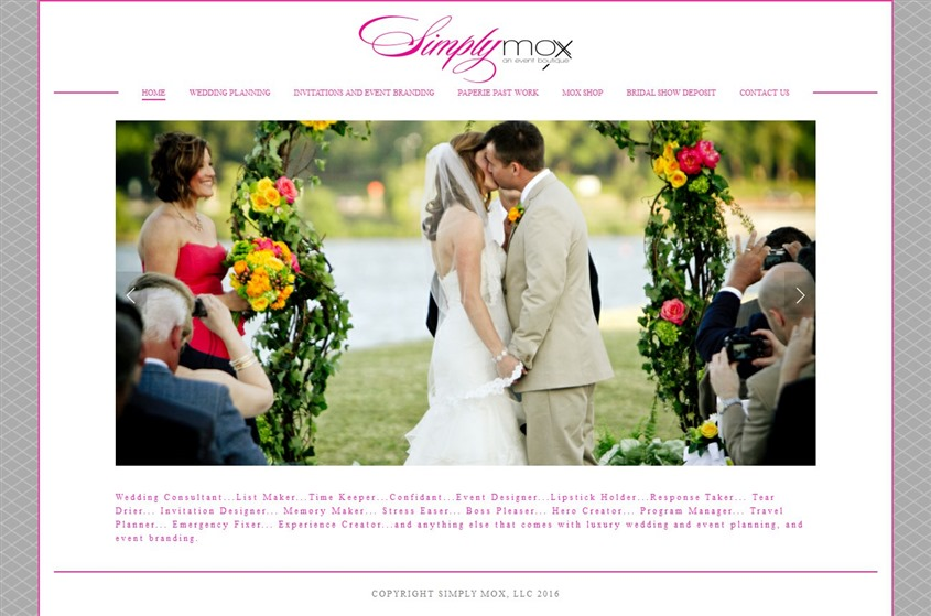 Simply Mox wedding vendor photo