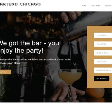 Bartend Chicago wedding vendor preview