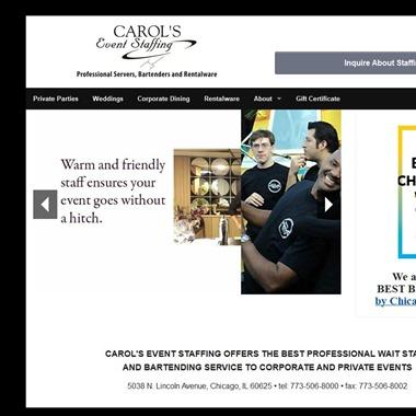 Carol's Event Staffing wedding vendor preview