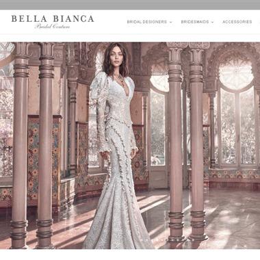 Bella Bianca Bridal Couture wedding vendor preview