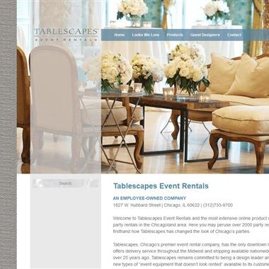 Tablescape Event Rentals wedding vendor preview
