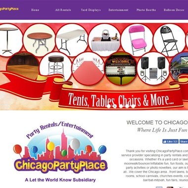 Chicago Party Place wedding vendor preview