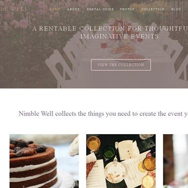 Nimble Well wedding vendor preview