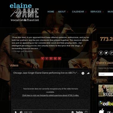 Elaine Dame wedding vendor preview