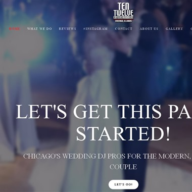 Ten Twelve Entertainment wedding vendor preview
