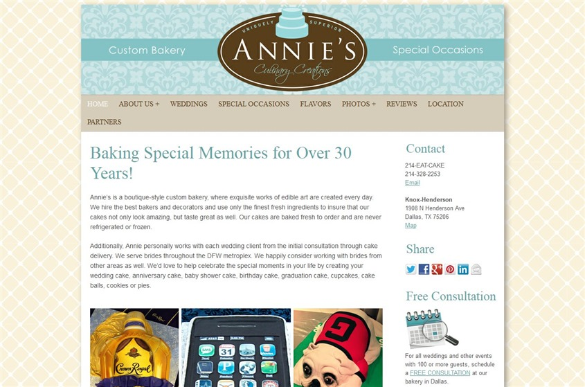 Annie's Culinary Creations wedding vendor photo