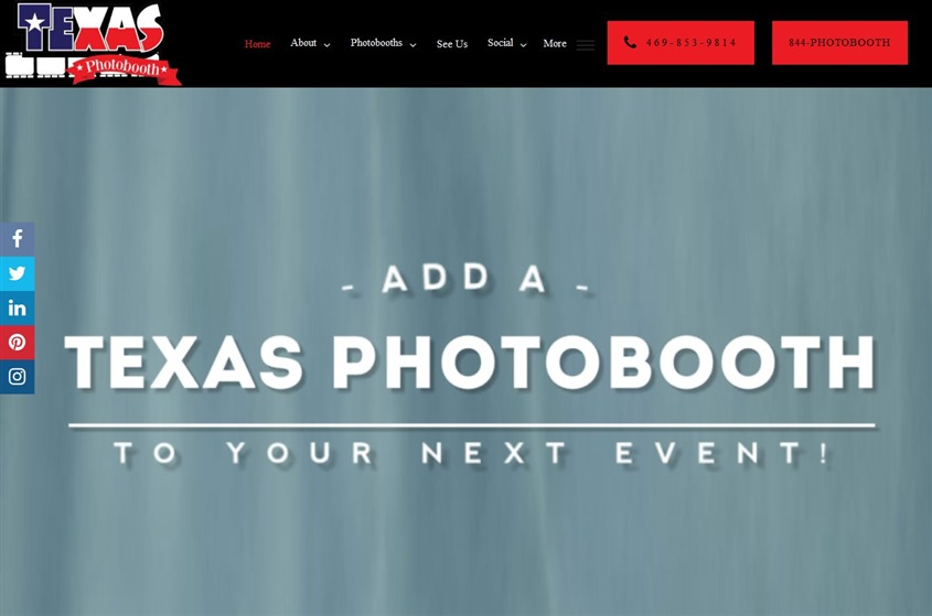 Texas Photobooth Company wedding vendor photo
