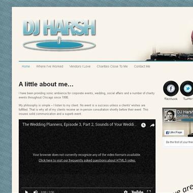 DJ Harsh Chicago wedding vendor preview