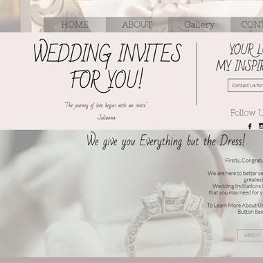 Invites For You 2 Love wedding vendor preview